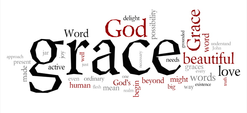 grace word cloud